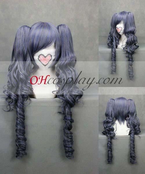 Черно Бътлър костюми Ciel Gray Cosplay перука Wave-046A