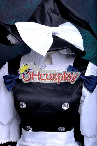 Touhou Project Fastelavn Kostumer Scarlet Weather Rhapsody Kirisame Marisa udklædning Fastelavn Kostumer