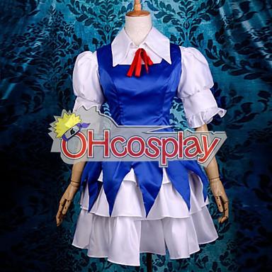 Touhou проекта костюми Scarlet Времето Rhapsody Lolita Cosplay костюми