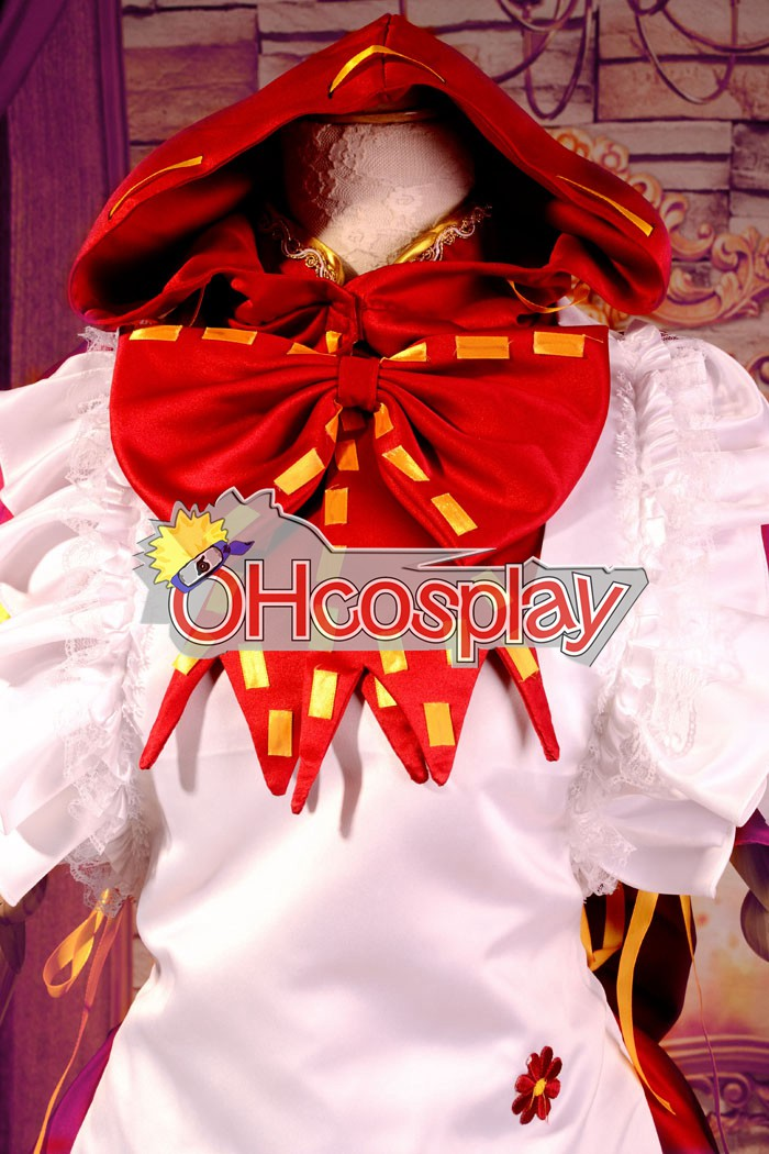Ruler Vocaloid Miku PROJECT DIVA2 малко Red Riding Hood Cosplay костюми
