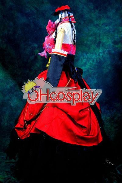 Vocaloid Sandplay Пеенето на The Dragon Luka Cosplay костюми Deluxe версия