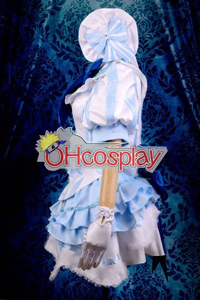 Vocaloid Miss Germany Лика Cosplay костюми Deluxe Version