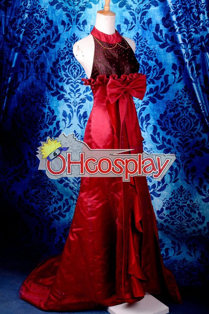 Macross Frontier костюми Sheryl MF Sheryl Nome Red официална рокля Cosplay костюми Deluxe