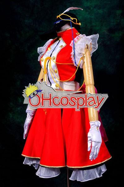 Macross Frontier костюми Ранка Лий Cosplay костюми Deluxe-