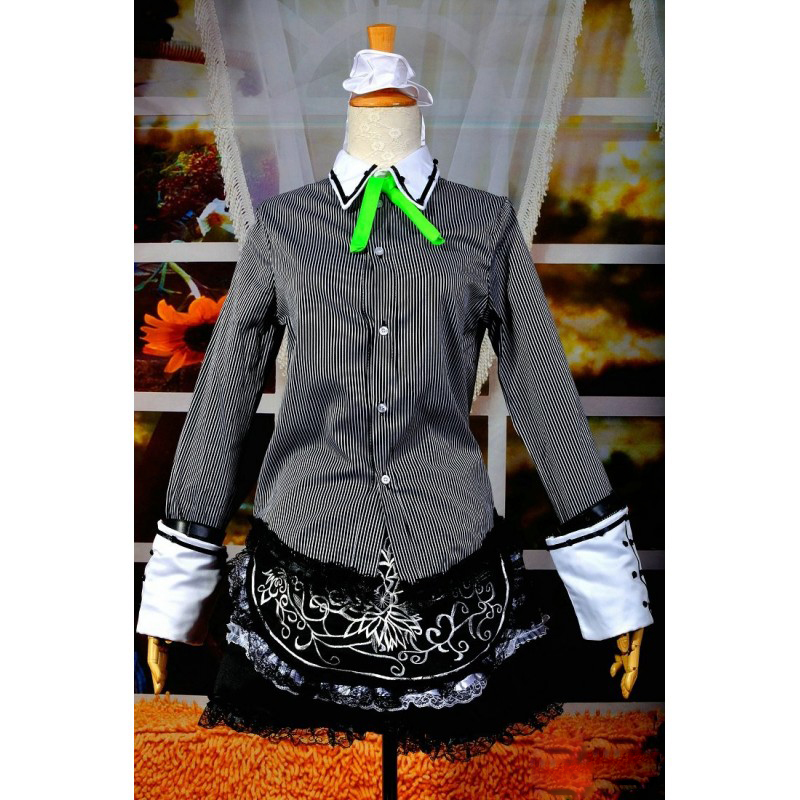 Touhou Project Costumes Izayoi Sakuya Cosplay Costume Deluxe Version