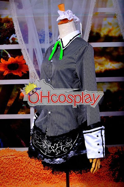 Touhou проекта костюми Izayoi Sakuya Cosplay костюми Deluxe Version