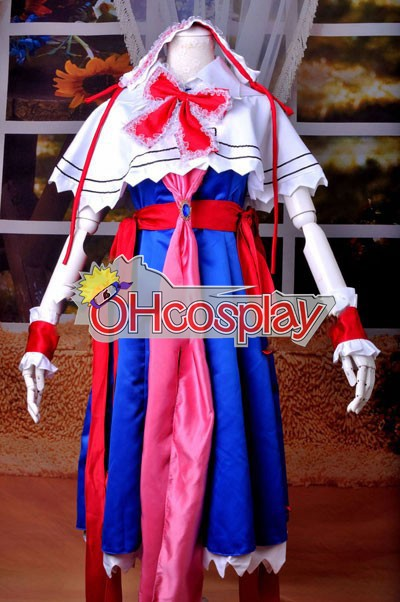 Déguisement Touhou Project Izayoi Sakuya Deguisements Costume Carnaval Cosplay Deluxe Version