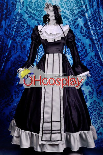 Ruler gosick-Victorique Dress Cosplay Kostuums