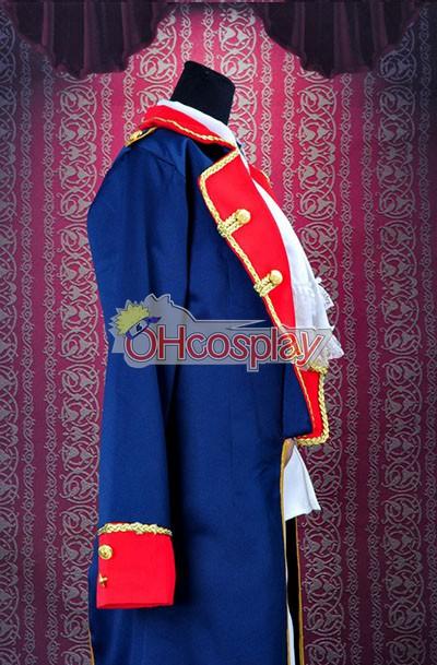 Axis Powers Hetalia Fastelavn Kostumer Prussia War Uniform udklædning Fastelavn Kostumer Deluxe Version-Y203