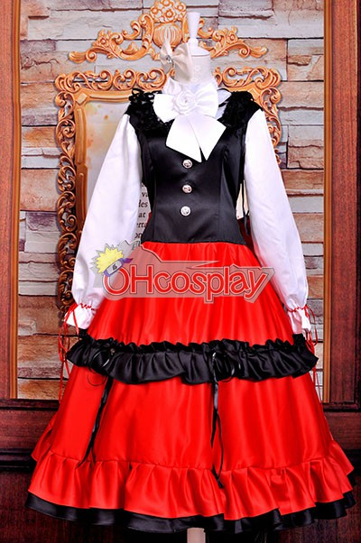 Axis Powers Hetalia Puku Hungary 801 Elizaveta Ethnic Clothing Cosplay Puku Deluxe Version