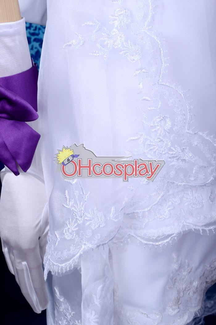 Ruler Vocaloid Muki White Dress Cosplay костюми