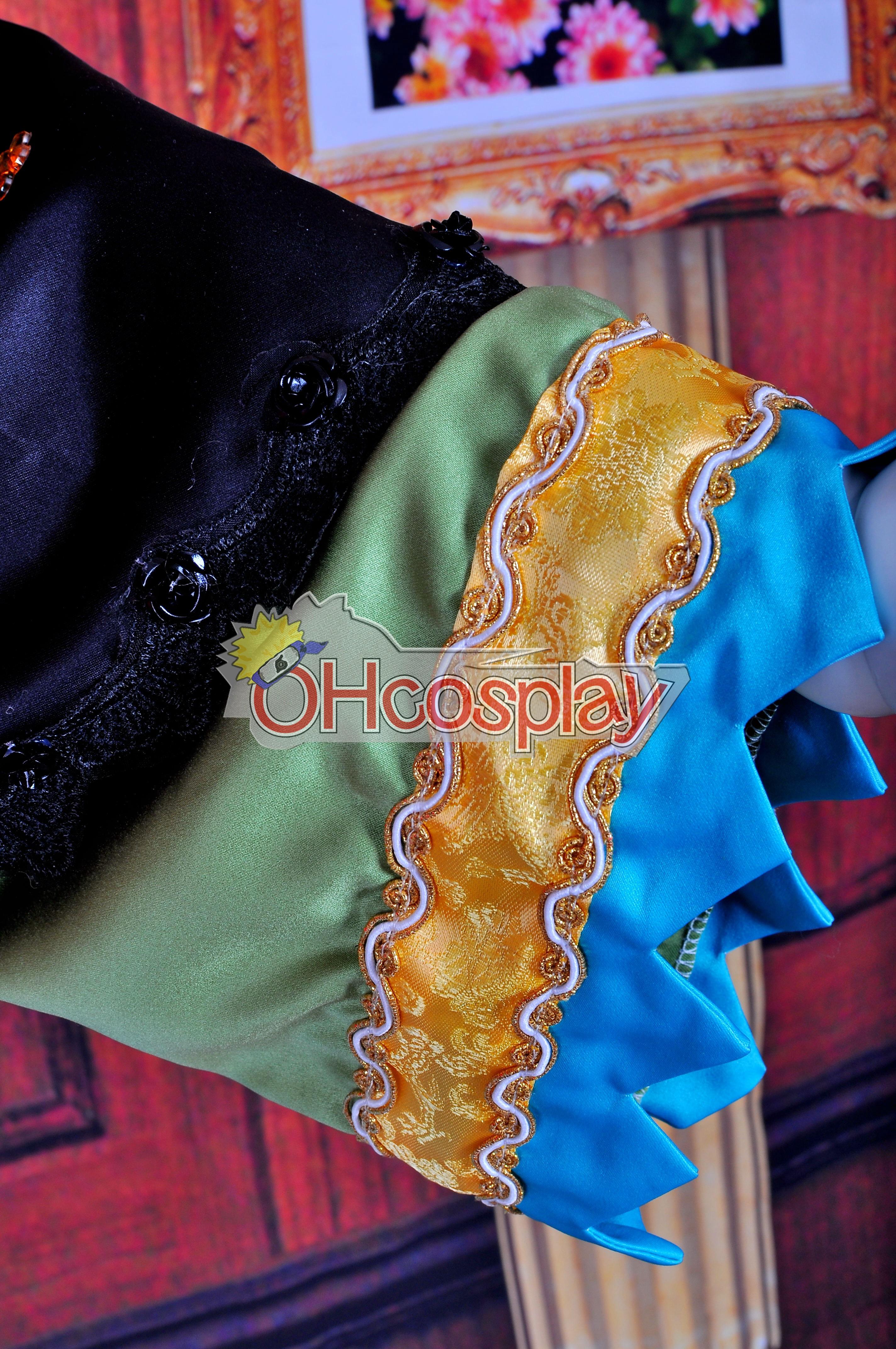 Ruler Vocaloid-Muki PROJECT DIVA2 куртизанка кимоно Lolita Cosplay костюми