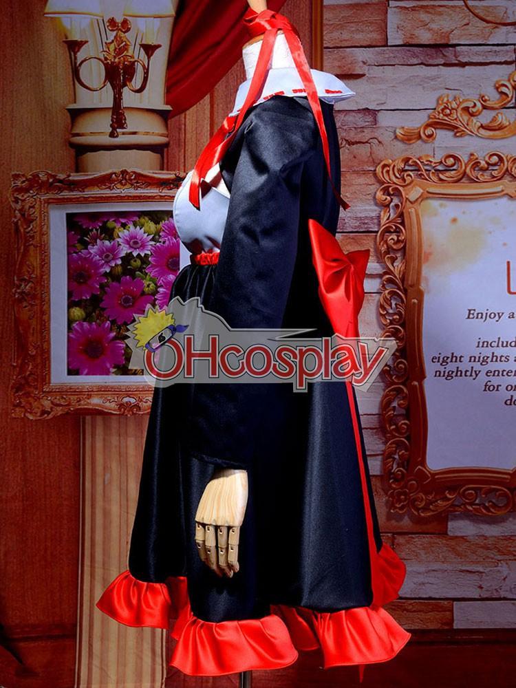 Vocaloid Zatsune Miku Cosplay костюми Deluxe-H11