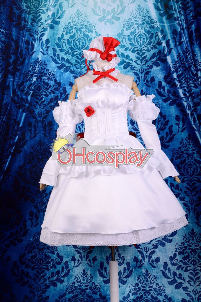Disfraces Touhou Project Remilia Gk Lolita Cosplay Costume Deluxe-KH16