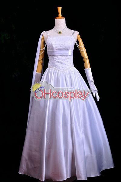 Tamers & Prince Tiana Weddeing рокля Cosplay костюми Deluxe-P3