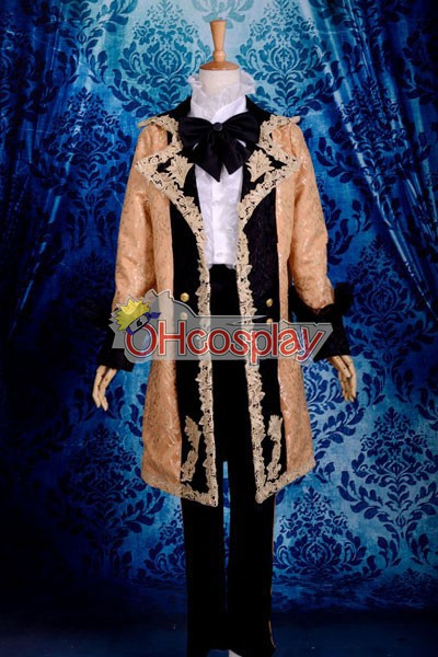 Vocaloid Devil Kagamine Len udklædning Fastelavn Kostumer Deluxe-P6