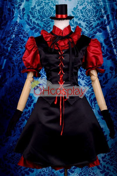My Little Monster Nacimi Asako Lolita Cosplay Kostymer Deluxe-P8
