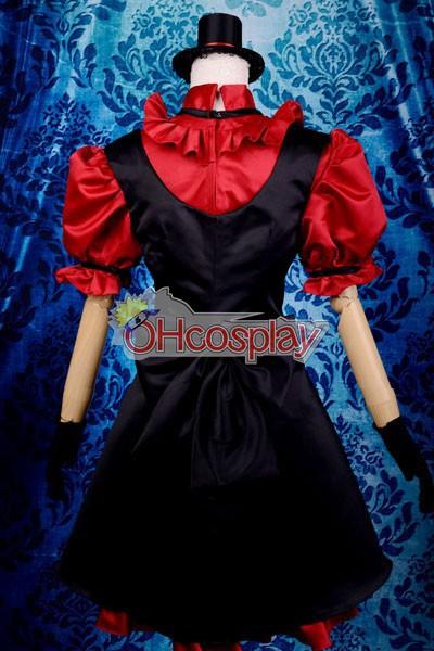 My Little Monster Nacimi Asako Lolita Cosplay костюми Deluxe-P8