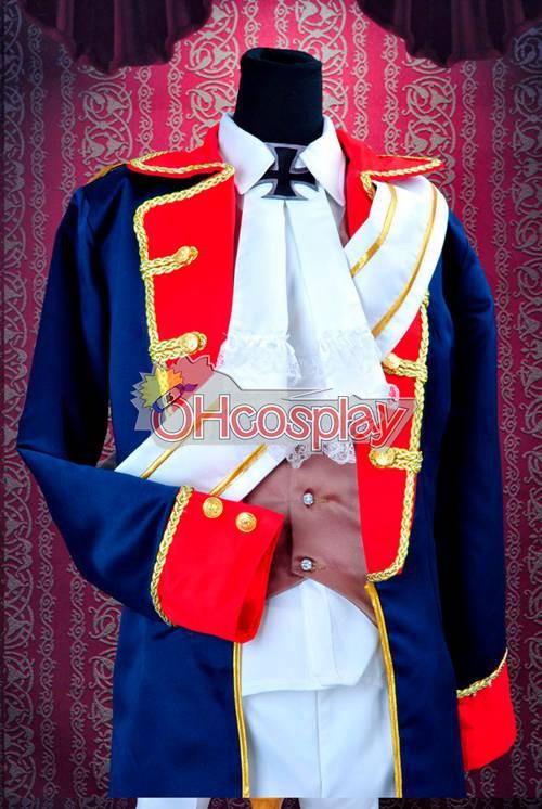 Axis Powers Hetalia Fastelavn Kostumer -Prussia War Uniforms udklædning Fastelavn Kostumer