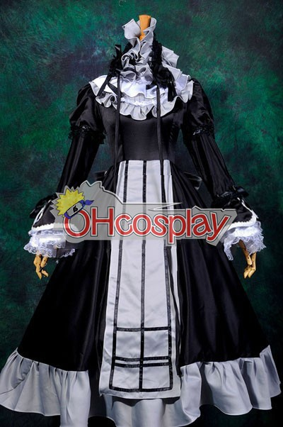 Gosick-Victorique Dress Cosplay Karneval Kläder