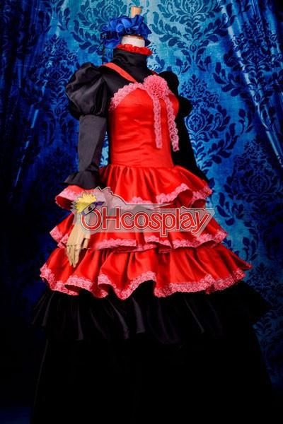Shana of the Blazing Eyes Third quarter-loli udklædning Fastelavn Kostumer Deluxe-H13