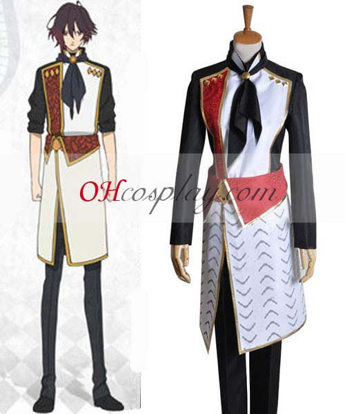 Amnesia Kostymer Shin Working Uniform Cosplay Kostymer