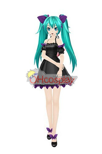 VOCALOID Project Diva F Miku Innocent Cosplay костюми Deluxe-KH2S