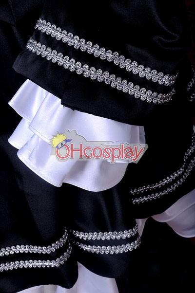 VOCALOID Project Diva F Secret Police Miku udklædning Fastelavn Kostumer Deluxe-KH4