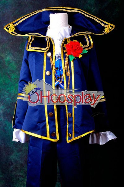 VOCALOID Project Diva F Kaito Requiem Cosplay костюми Delxue-КН6