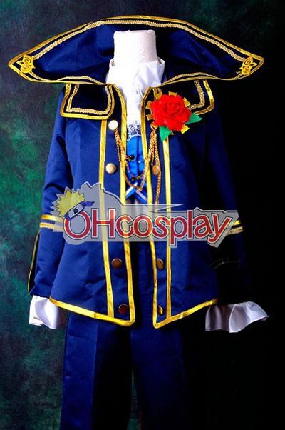VOCALOID Project Diva F Kaito Requiem Cosplay костюми Delxue-КН6