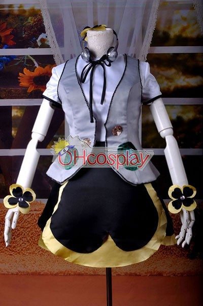 VOCALOID Project Diva F Панси Miku Cosplay костюми Delxue-KH7