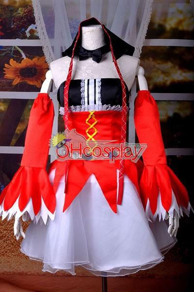 VOCALOID Project Diva F Pierreta Miku Cosplay костюми Deluxe-KH8