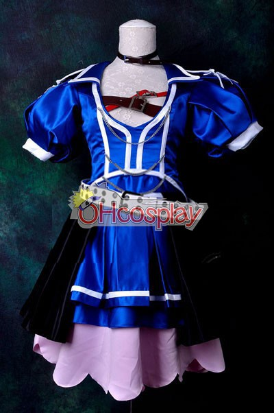 Vocaloid Project Diva F Blue Crystal Meiko Cosplay костюми Delxue-KH9