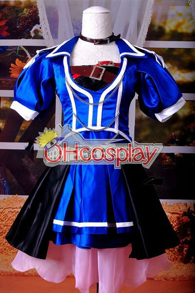 Vocaloid Project Diva F Blue Crystal Meiko Cosplay костюми Delxue-KH9S