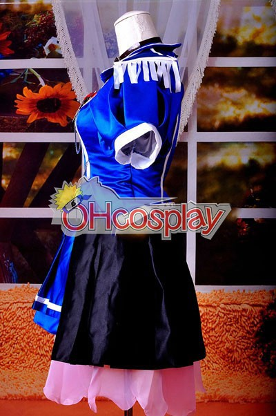 Vocaloid Project Diva F Blue Crystal Meiko udklædning Fastelavn Kostumer Delxue-KH9S