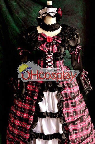 TouhouProject-Komeiji Satori Lolita Cosplay Kostymer