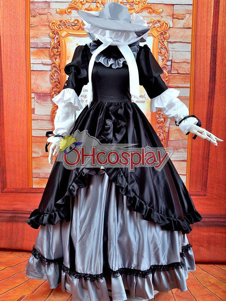 Gostick-Victorique Longuette Lolita Cosplay Costume