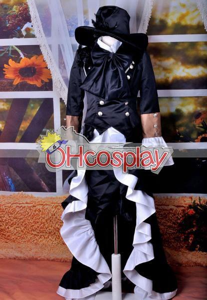 Черно Бътлър костюми-Ciel Lolita Cosplay костюми