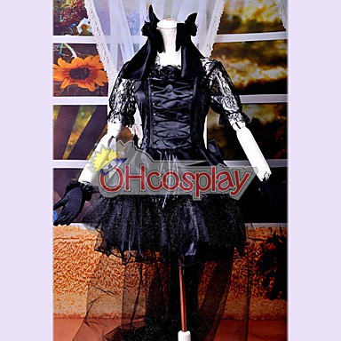 Black Dress Lolita Cosplay Costume
