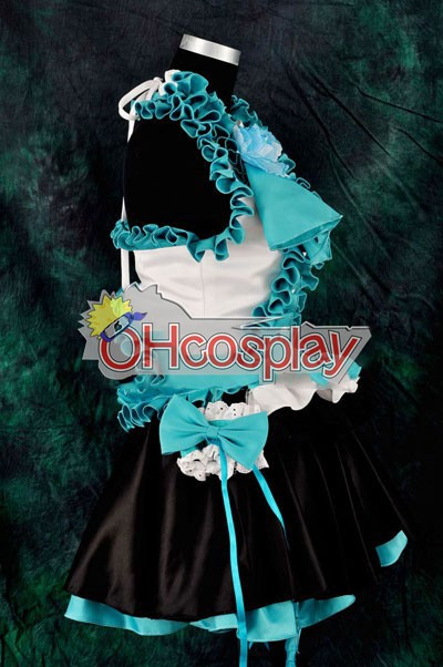 Vocalogenesis Blue Gorgeous Dress Lolita udklædning Fastelavn Kostumer