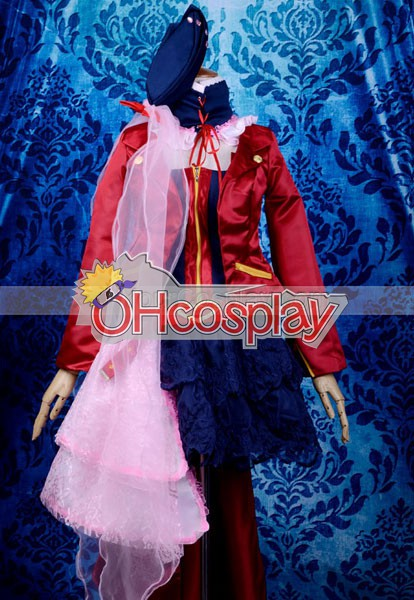 Macross Series Sheryl MF Final Edition Cosplay Puku