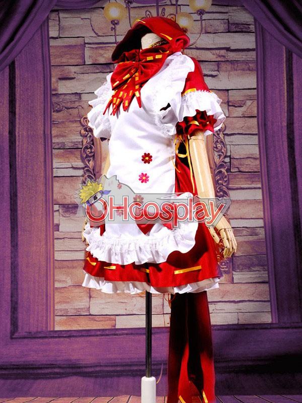 VOCALOID-Miku PROJECT DIVA2 Little Red Riding Hood Cosplay костюми