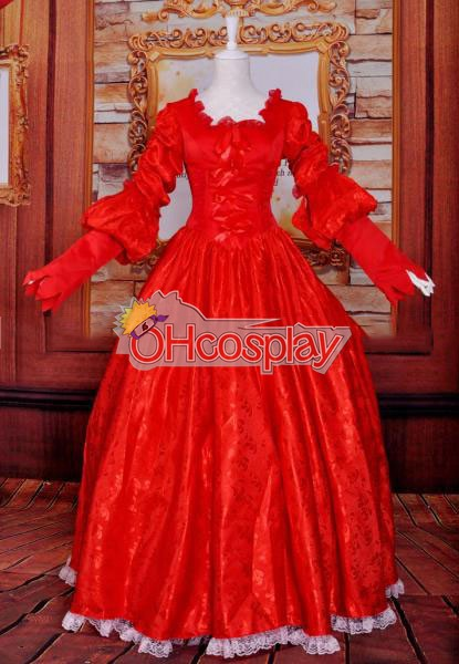 Snow White Queen/Wedding Dress/Lolita Cosplay Costume