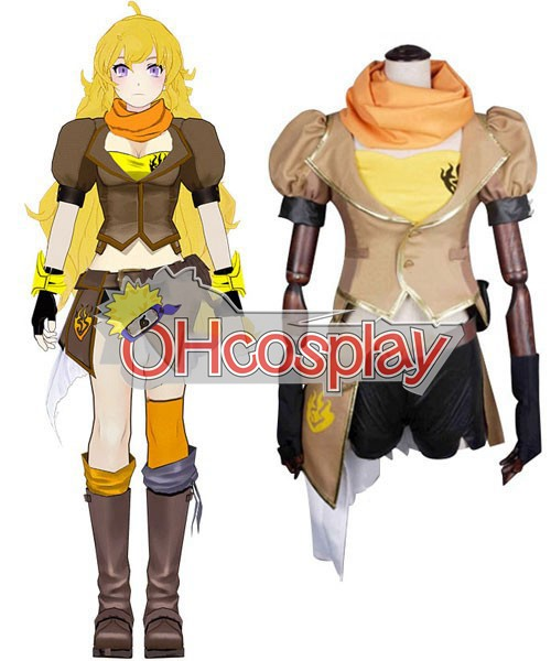 Rwby костюми Yellow Yang Xiao Long Cosplay костюми