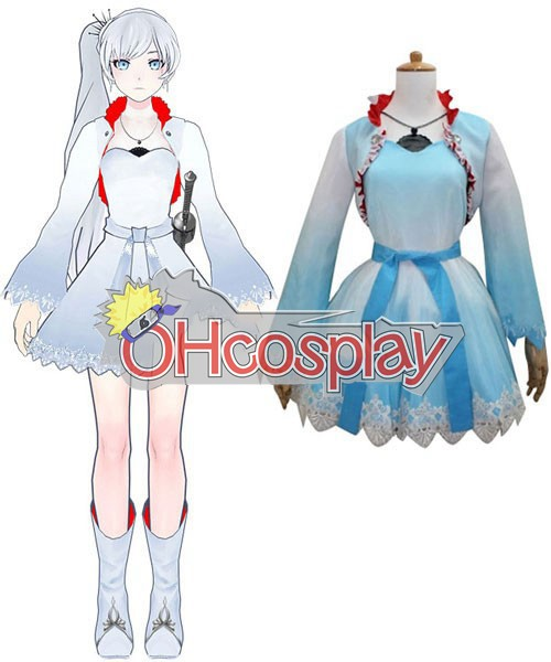 Rwby Costumes White Schnee Weiss Cosplay Costume