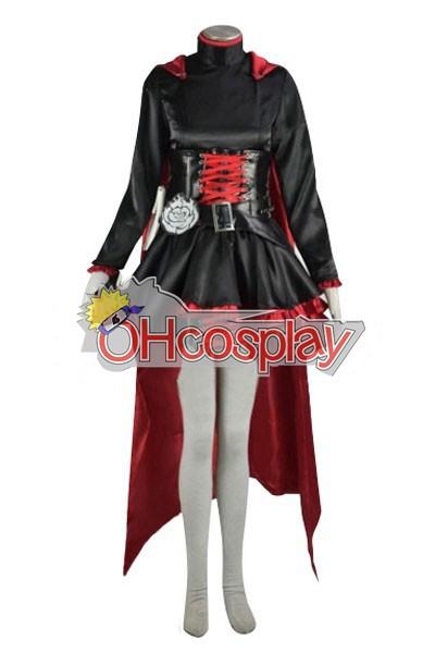 Rwby костюми Red Ruby Rose Cosplay костюми