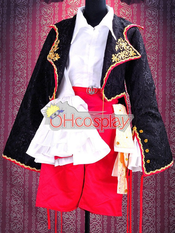 Ruler Vocaloid Kagamine Rin Cosplay Costume