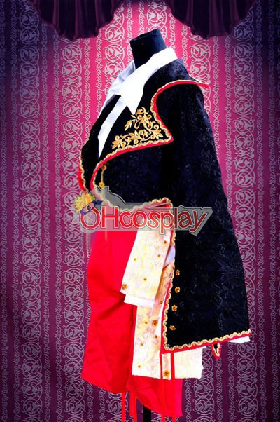 Ruler Vocaloid Kagamine Rin Cosplay костюми