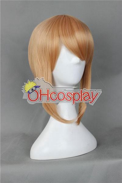 Dangan Ronpa Fastelavn Kostumer Junko Enoshima Pink-Brown udklædning Wig-325A