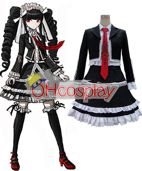 Dangan Ronpa Costume Celestia Ludenberg Dress Cosplay Costume